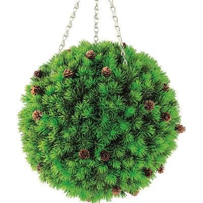 Topiary Ball Cypress with Cones Effect 300mm