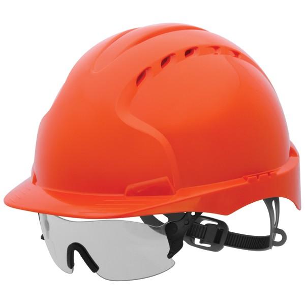 JSP EVOspec Clear - Anti-Mist Safety Glasses