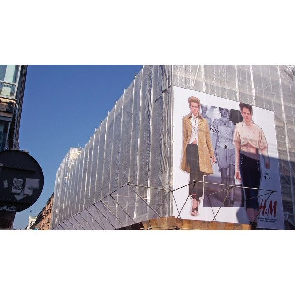 Scaffold Sheeting - Heavy Duty