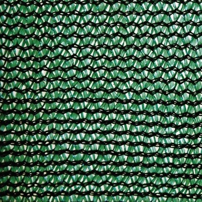 85% Shade Netting for Privacy - 2.5m x 50m - Green - FLAME RETARDANT