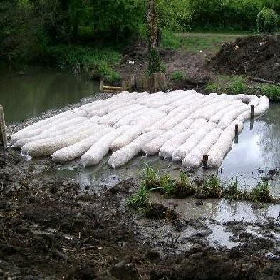 Barley Straw Algae Netting Bale