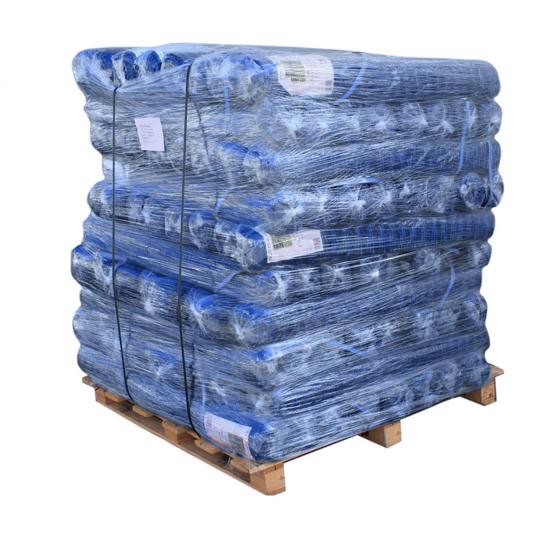 Blue Barrier Fence - Pallet Packs