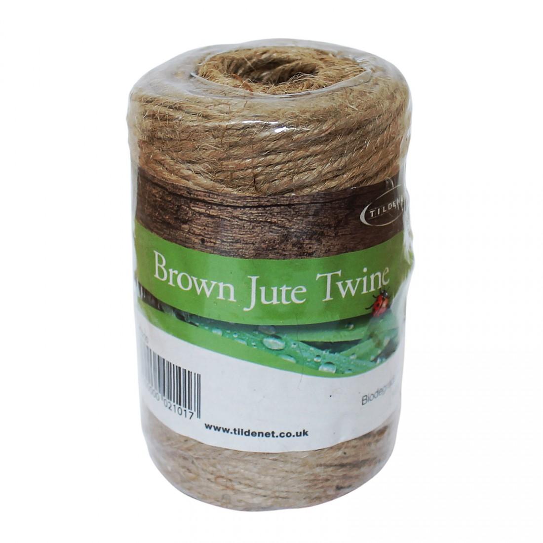 Biodegradable Jute Garden Twine - 100m