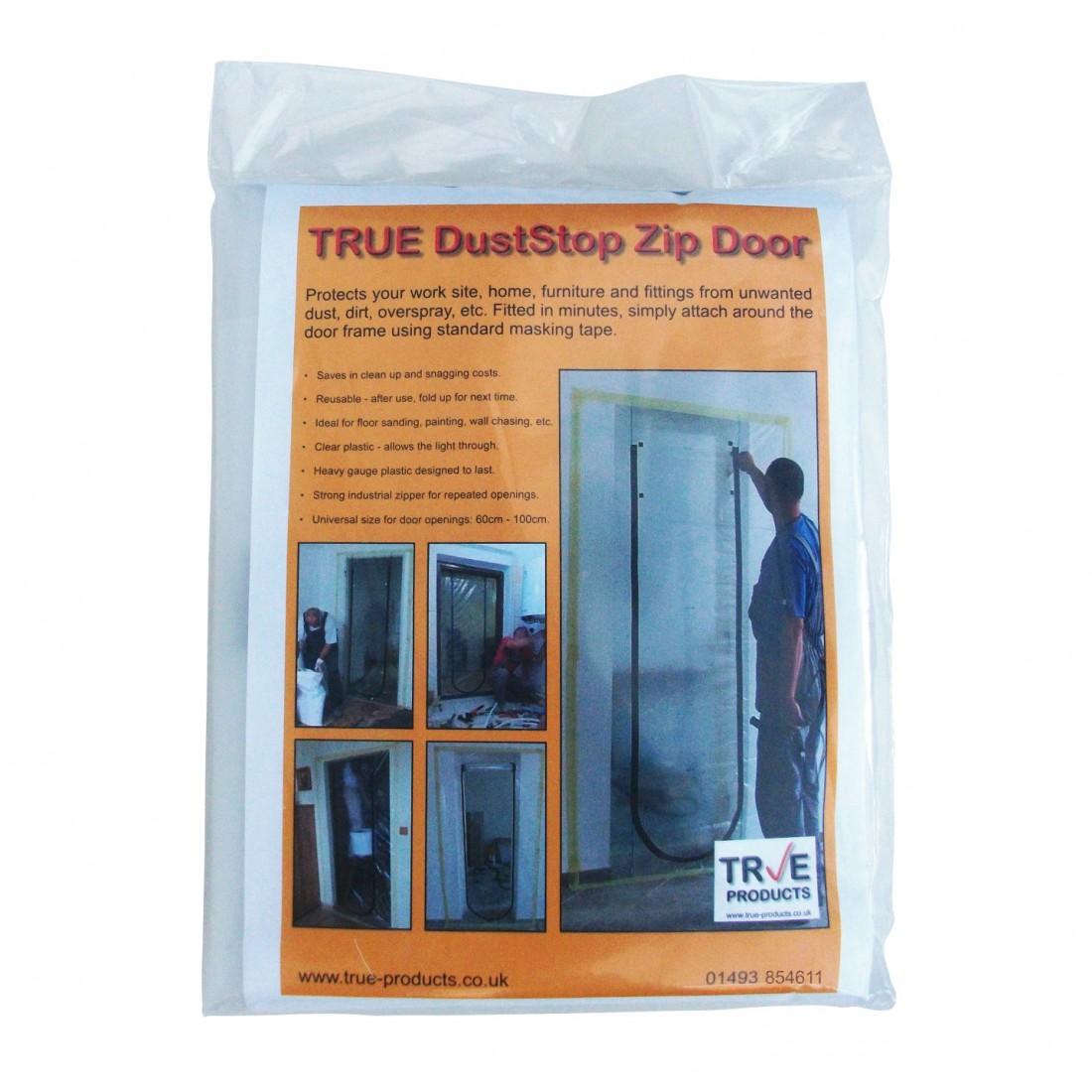 True Dust Stop Zip Door Kit