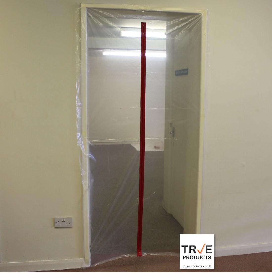 & 1 Zip Door Kit - Dust Prevention Door