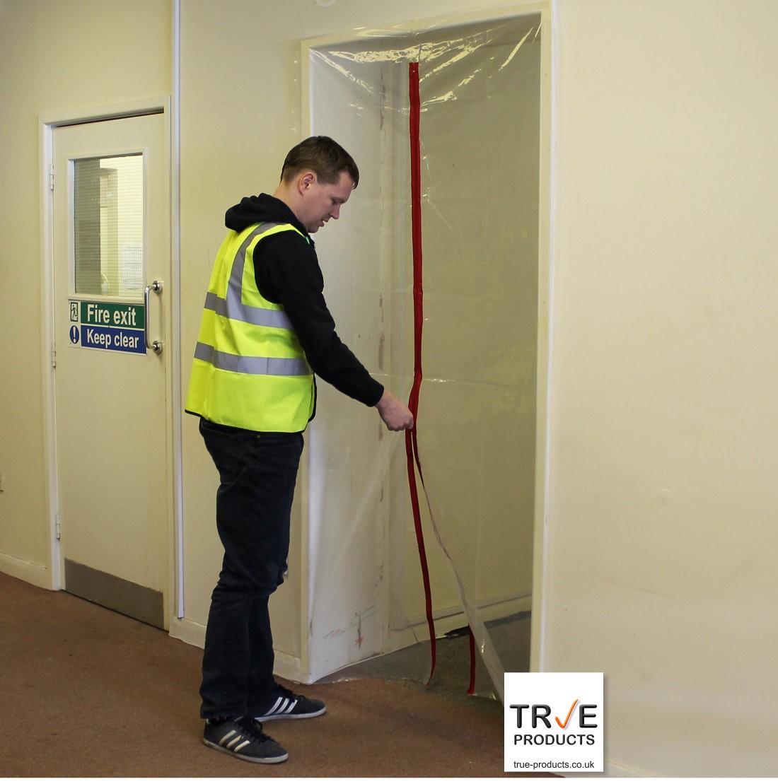 1 Zip Door Kit - Dust Prevention Door