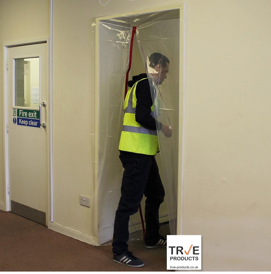 & 1 Zip Door Kit - Dust Prevention Door pezcame.com