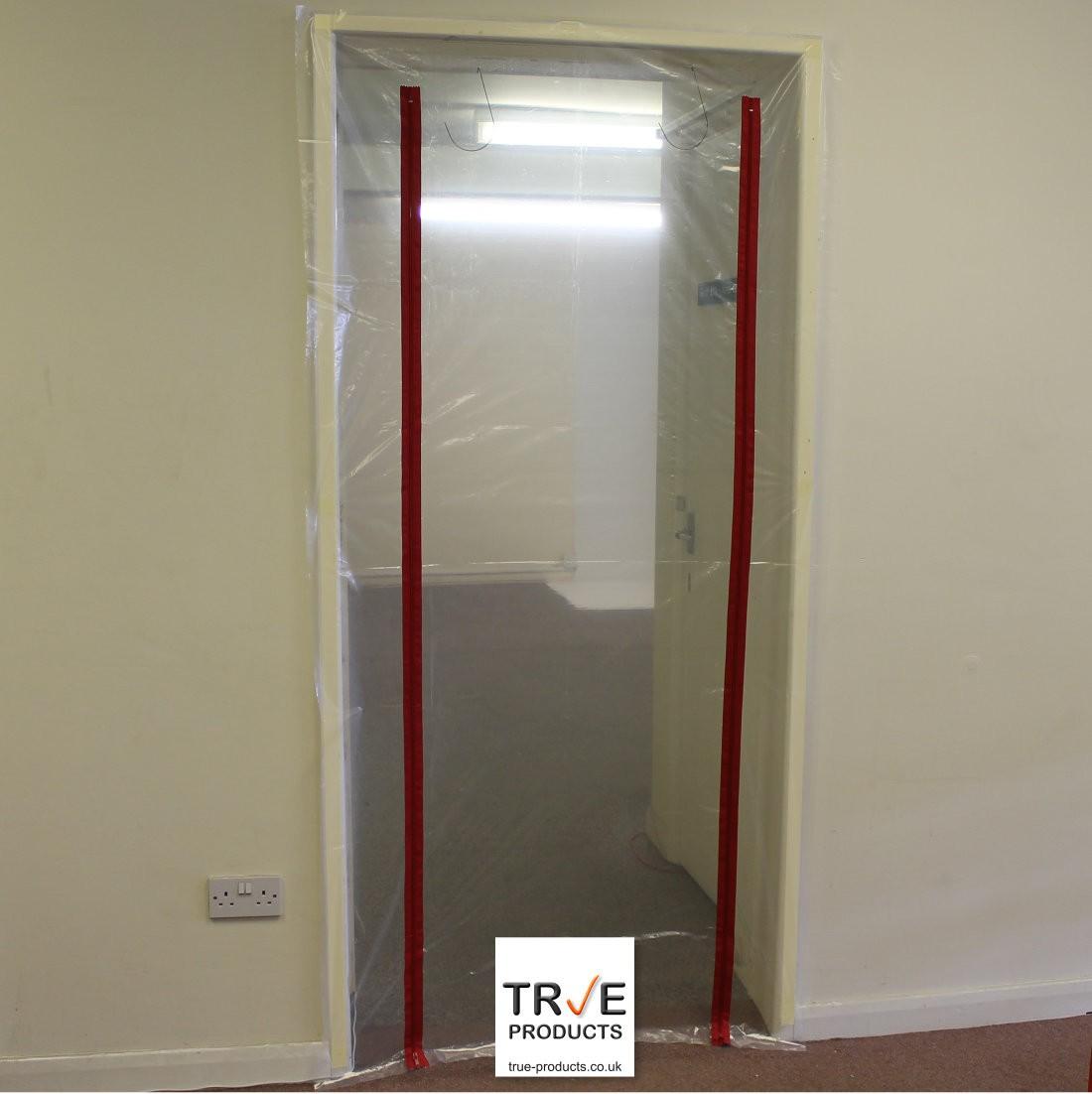 2 Zip Door Kit Dust Prevention Door