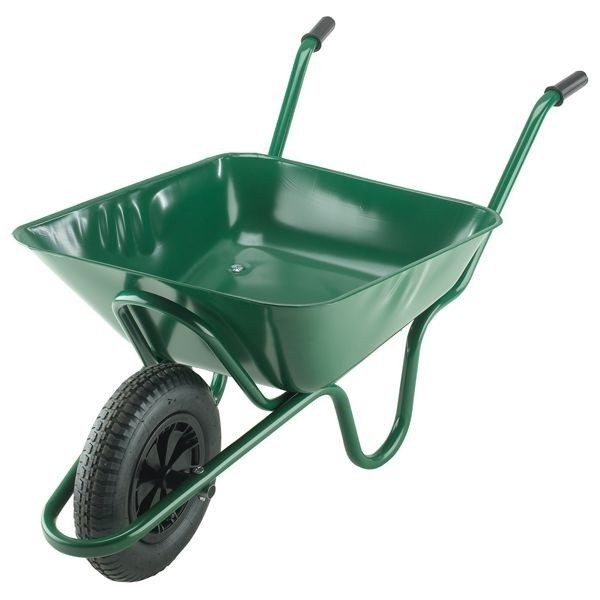 90 Litre Heavy Duty Wheelbarrow with Pneumatic Tyre