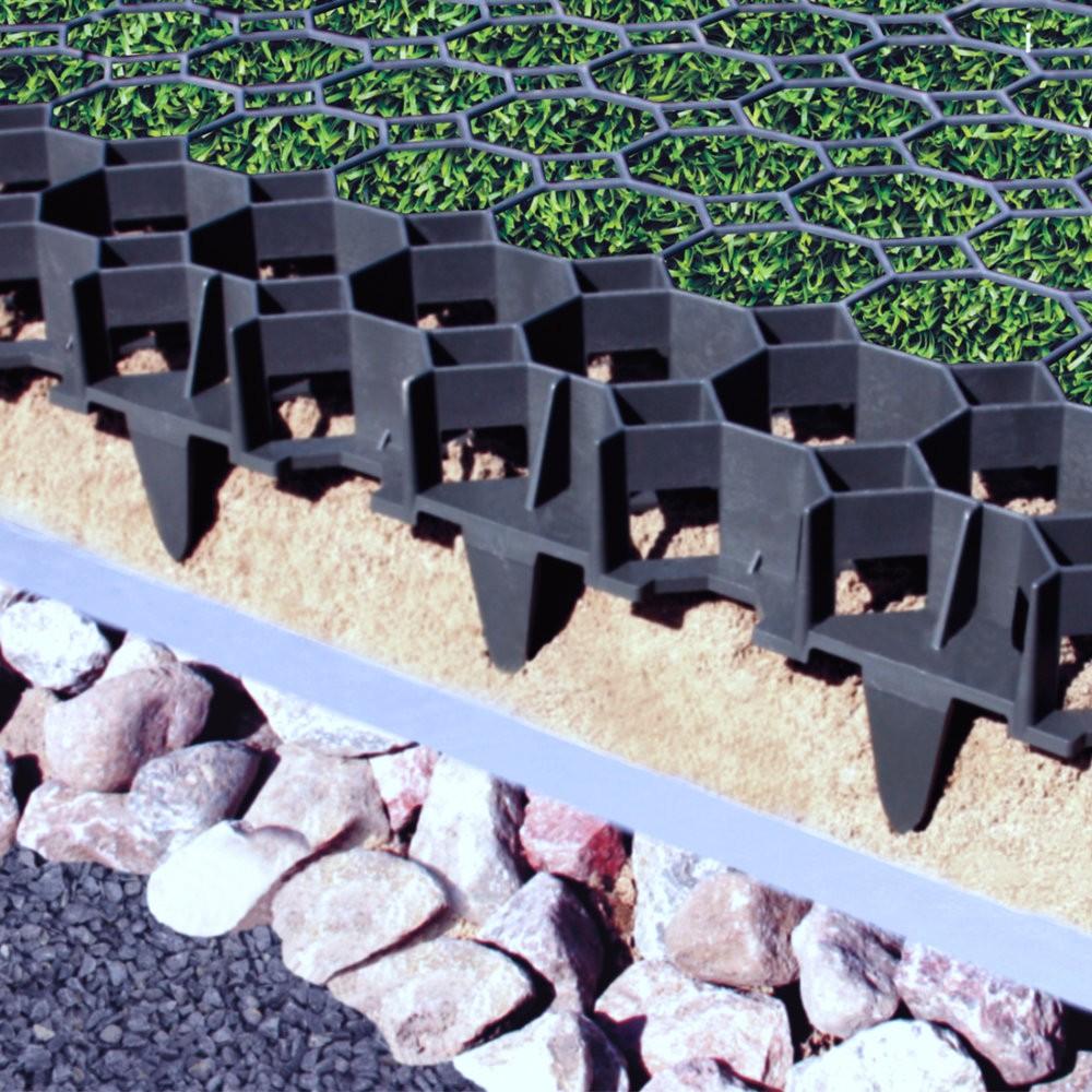 Truegrid Porous Paver Grass Amp Gravel One 500mm Grid