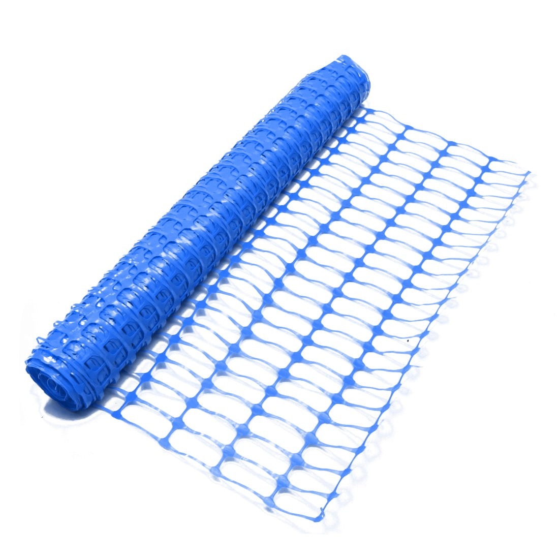 Blue Barrier Mesh Fence
