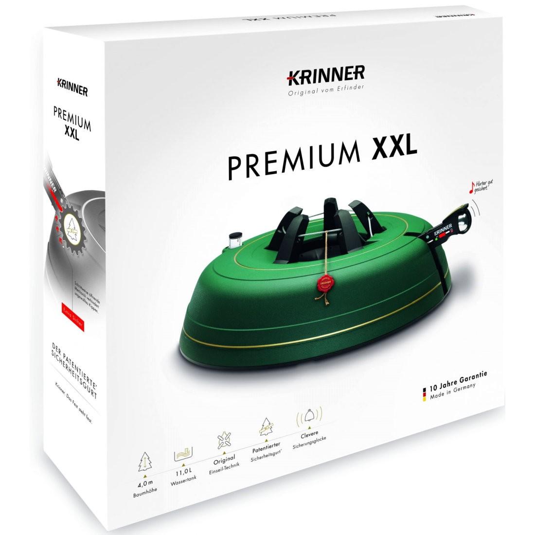Krinner premium xxl christmas tree stand ft