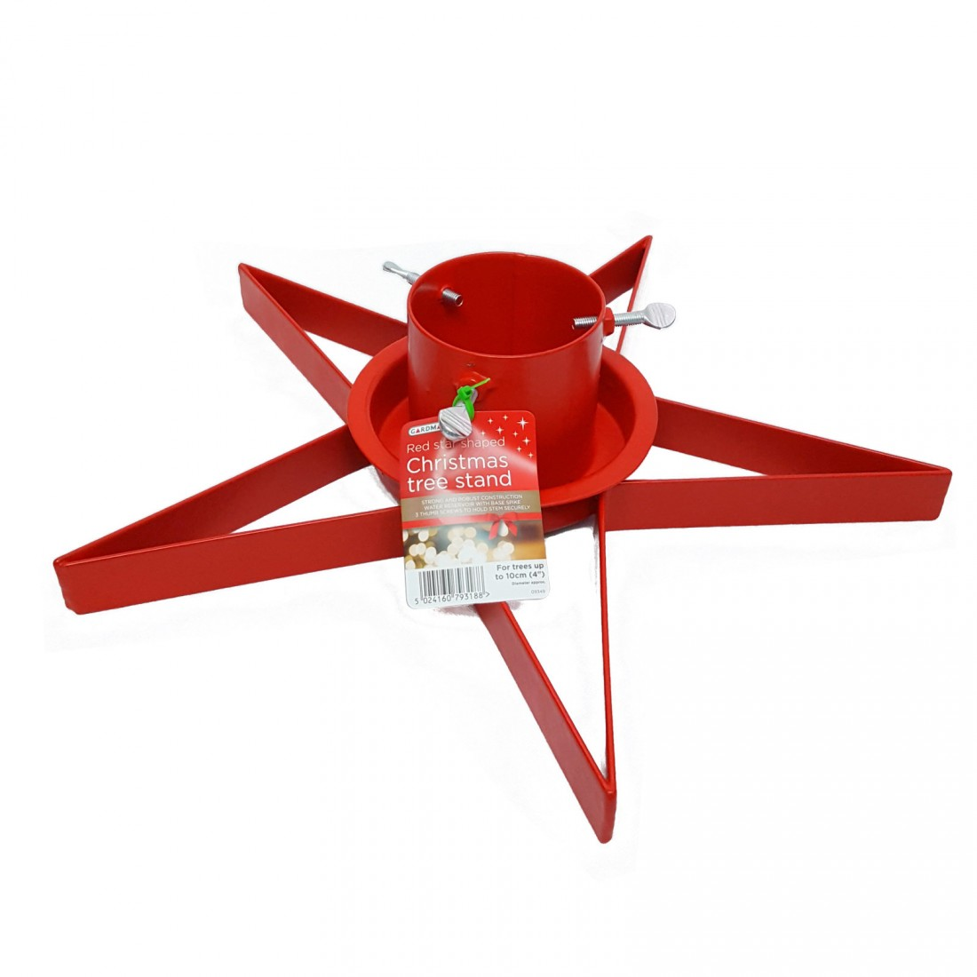 Red star quot christmas tree stand