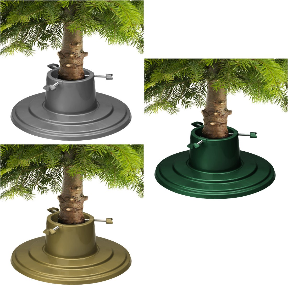 Holly Round Real Christmas Tree Stands