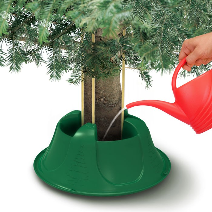 Swift aura green real christmas tree stand for trees