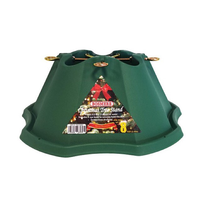 Bosmere g christmas tree stand for ft trees