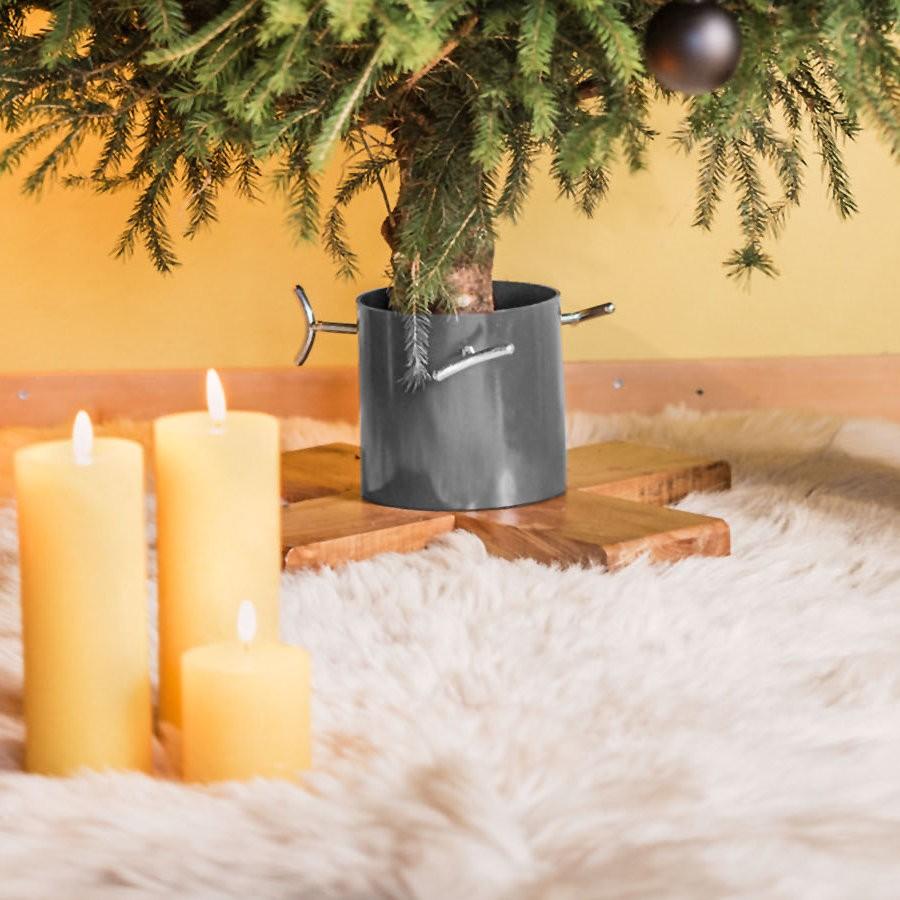 Contemporary Christmas Tree.Hip Christmas Tree Stand