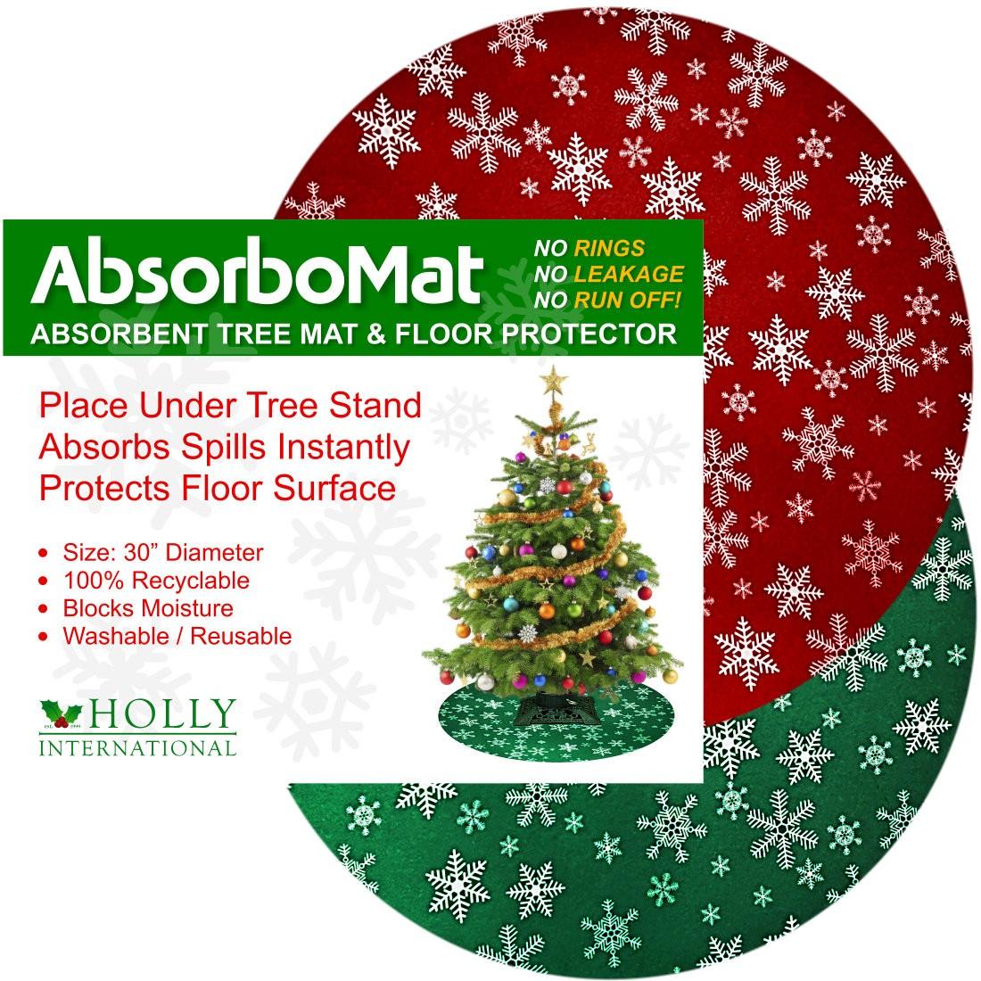 AbsorboMat Waterproof Christmas Tree Mat & Floor Protector