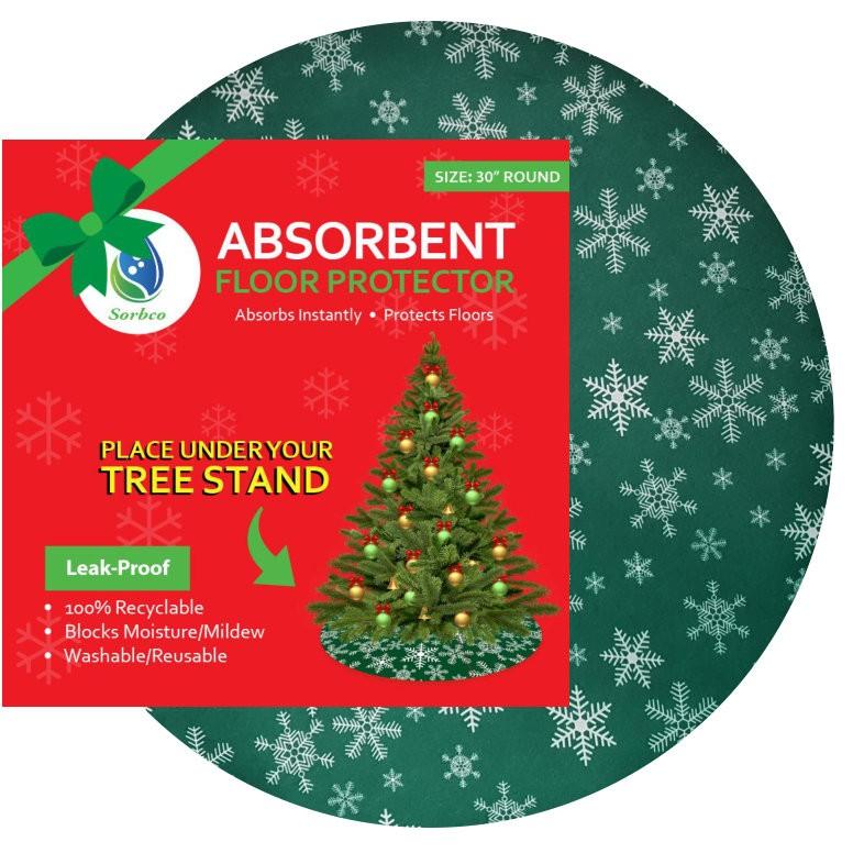 Waterproof Christmas Tree Mat and Floor Protector