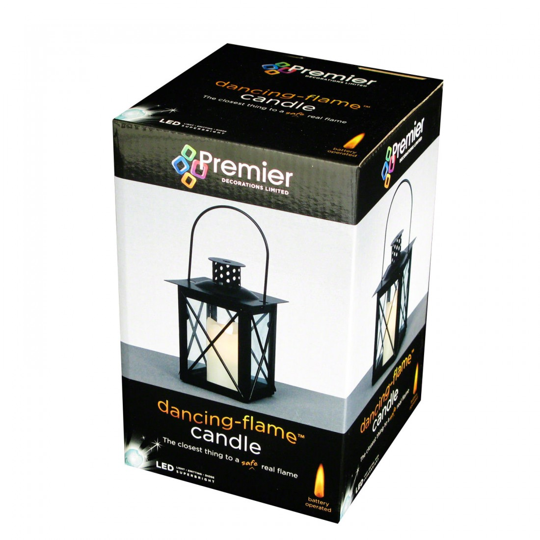 Battery powered candles swing flame flickering battery for Lit 09 battery