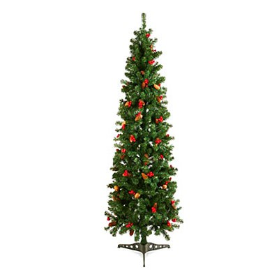 Prelit Spruce Pine Christmas Tree 180 LED 1.8m