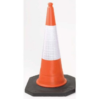 Road Cone / Traffic Cone 500mm 2 part