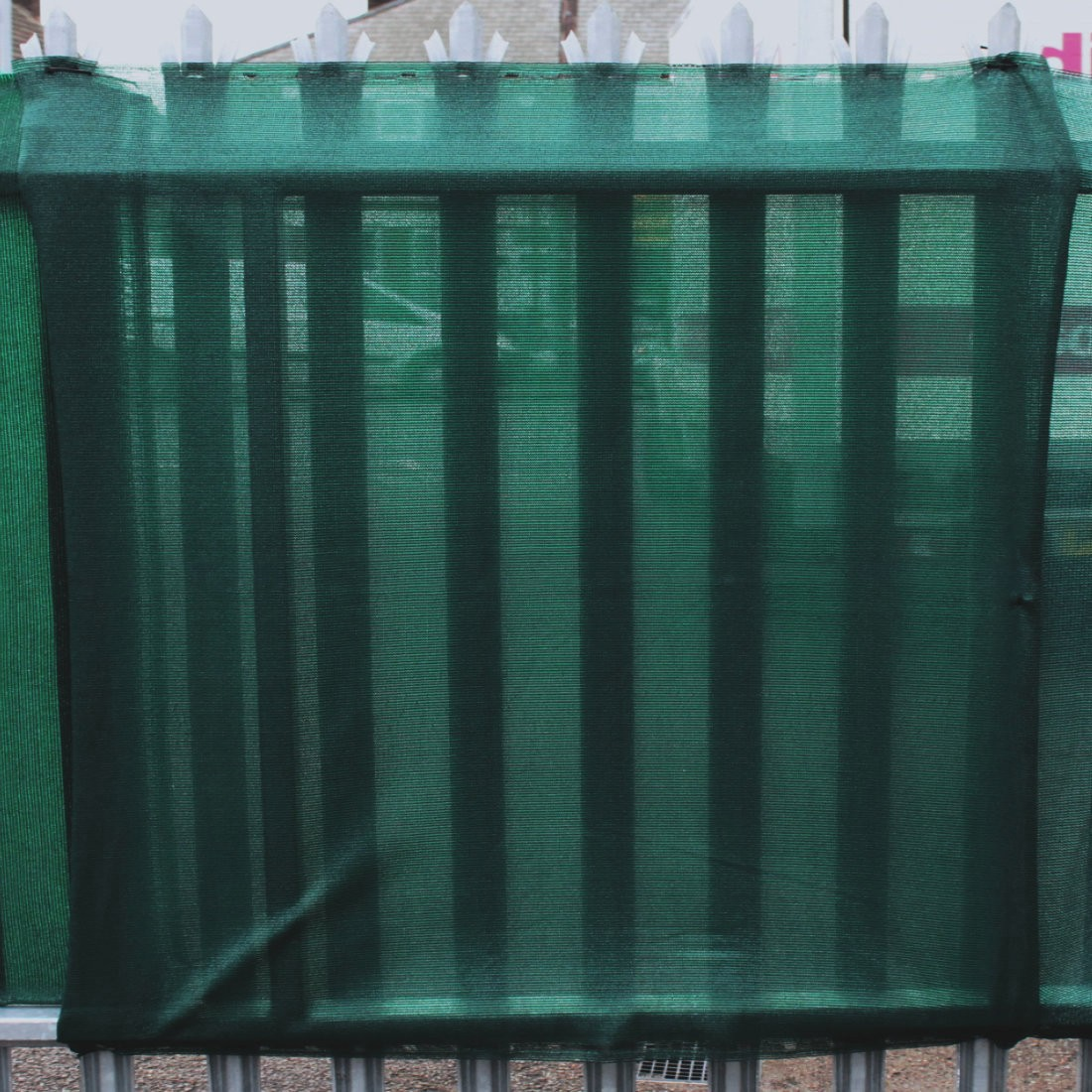 95% 'T' Shade Netting for Privacy - Green. 4ft, 6ft or 12ft High