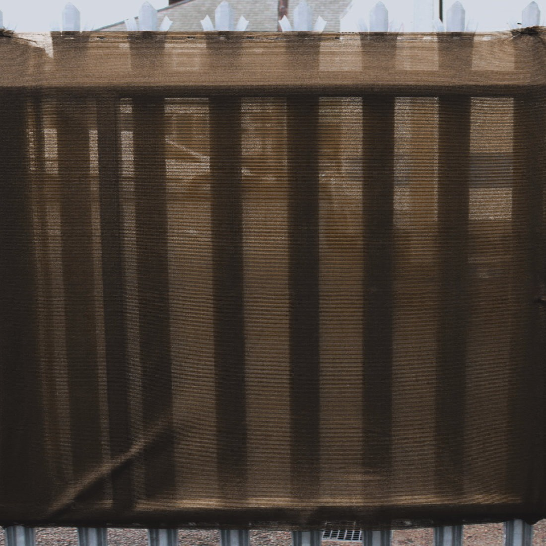95% Brown Shade Netting for Privacy