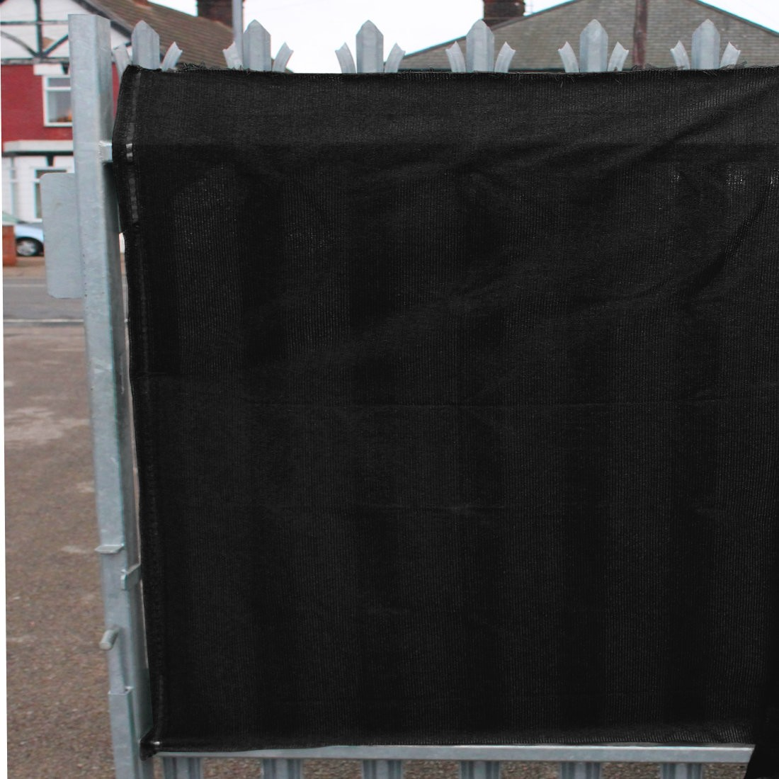 98% Black Shade Netting for Privacy