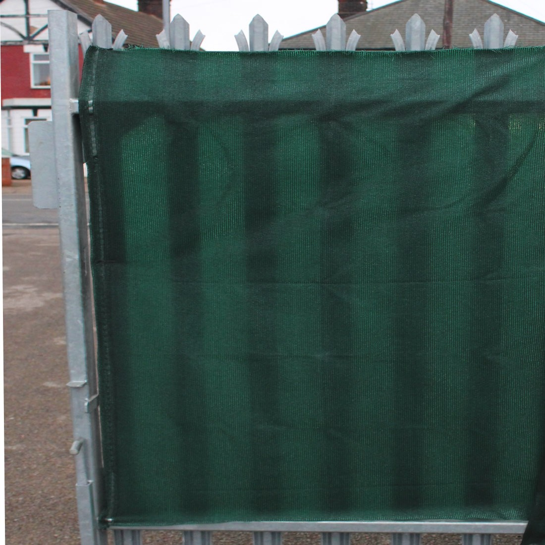 98% Green Shade Netting for Privacy - 1m, 1.5m or 2m