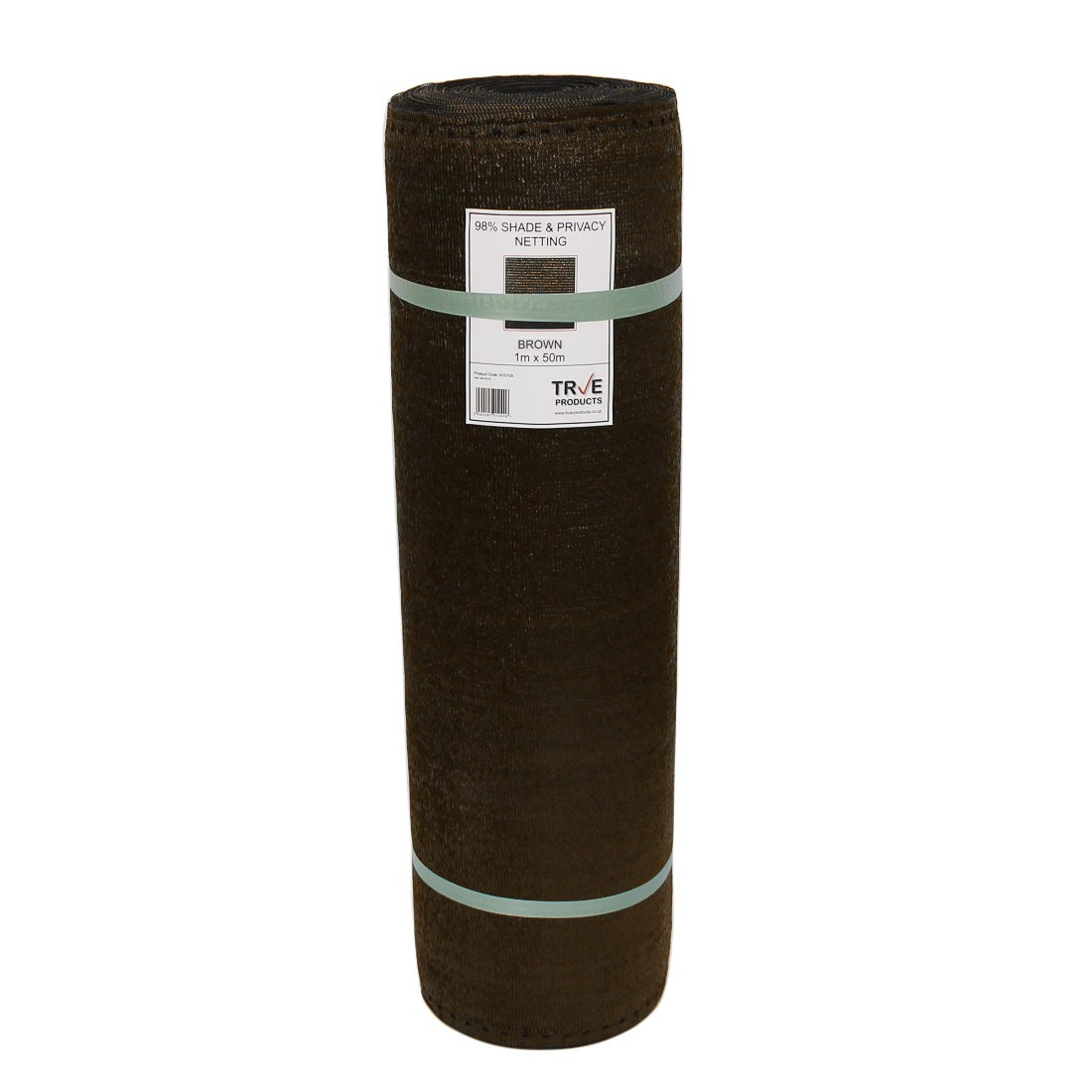 98 brown shade netting for privacy screening 1m or for Fenetre 2m x 1m