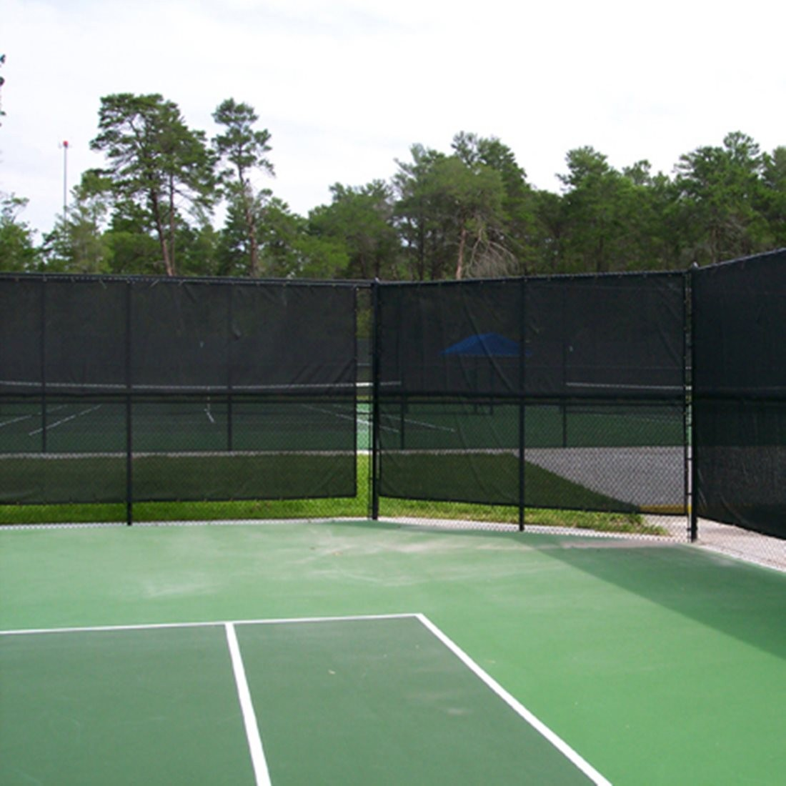 Standard Tennis Court Privacy Windbreak Netting Surround Screen