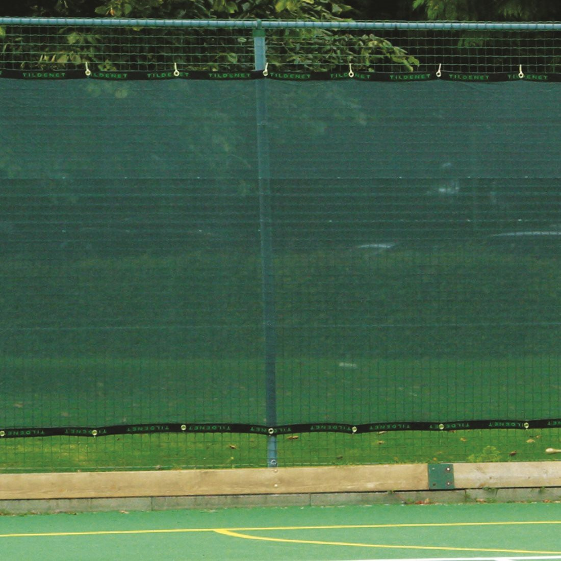 Premium Tennis Court Privacy Windbreak Netting Surround Screen