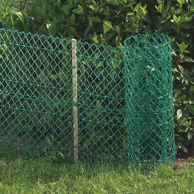 Rigid Plastic Fence - Hexagon 25mm - 0.5m x 5m