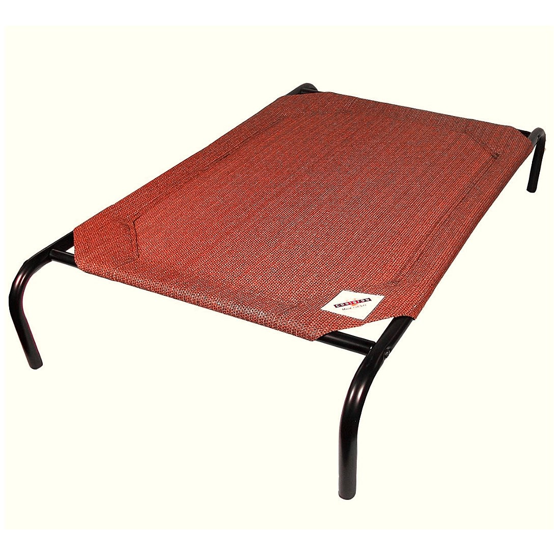 Coolaroo Raised Pet Bed - Terracotta