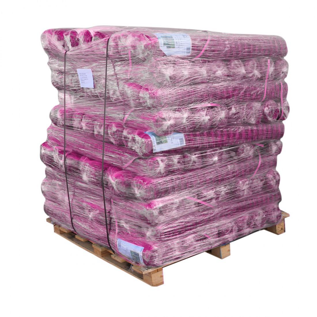 Pink Barrier Fence Plastic Mesh