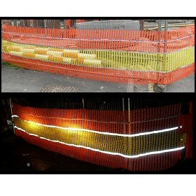 Reflective Safety Barrier Net Fence