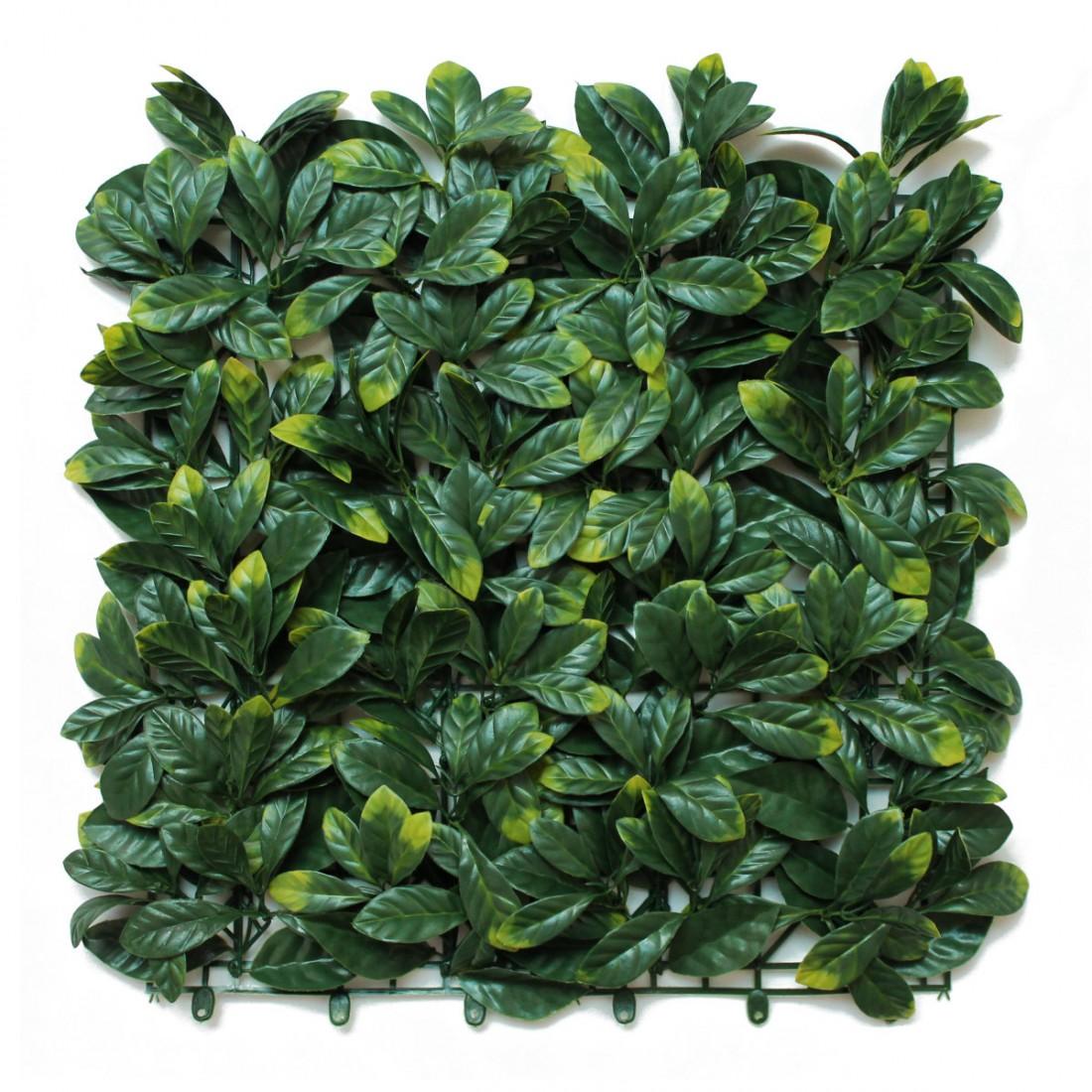 Artificial Laurel Leaf Hedge Panels -  Front
