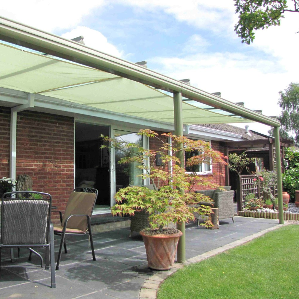 Coolaroo commercial 95 shade sail material range of for Shade sail cost