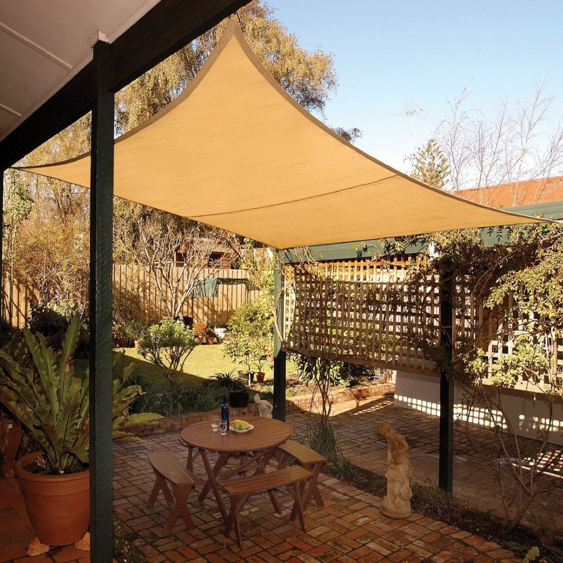 Coolaroo Shade Sail - Squares