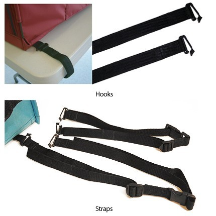 Sturdi Table Straps & Table Hooks - 2 Styles