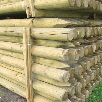 Wooden Posts Treated 10 Pack