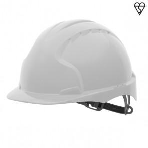 JSP EVO2 Helmet (Standard Peak) - White