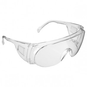 JSP Martcare M9200 Visispec Safety Glasses - Clear