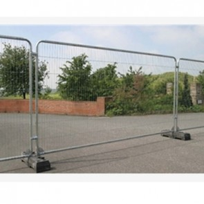 Galvanised Metal Anti Climb Fencing Panels
