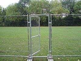 Pedestrian Gate for Anti Climb Fence