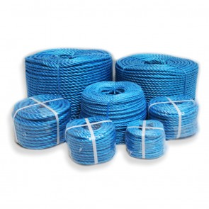 Blue Rope 3 Strand Polypropylene