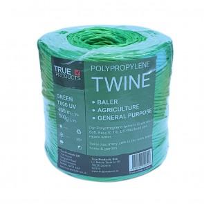 Green Polypropylene Baling Twine T-800 UV - 350m
