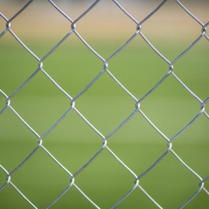 Galvanised Chain Link Fence - 10m