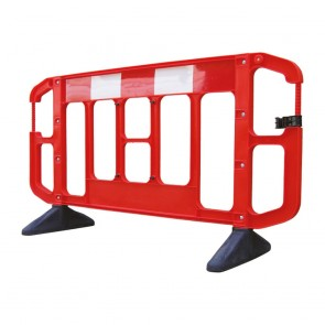 JSP Titan Plastic Traffic Safety Barrier 2m